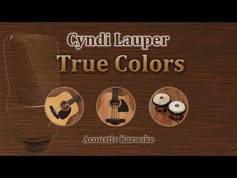 True Colors - Cyndi Lauper (Acoustic Karaoke)