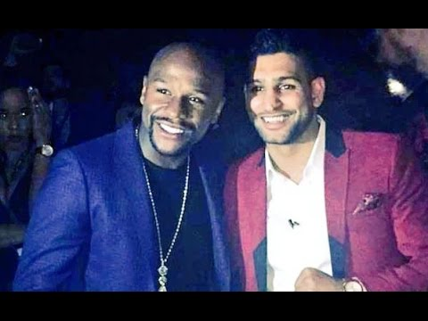 AMIR KHAN REVEALS FLOYD MAYWEATHER CONVERSATION THAT TOTALLY CHANGED HIS OPINION OF HIM