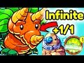 The UNLIMITED BUFFS   Root DREAM COMBO! [Deck Highlights] Pvz Heroes