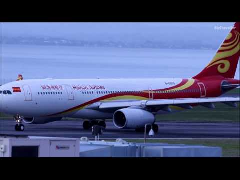 Hainan Airlines A330-200 departure to Shenzhen