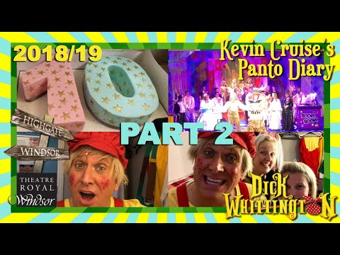 Kevin Cruise's Panto Diary 2018/19 Part 2 STEVEN'S 10th YEAR!
