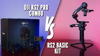 DJI RS2 Pro Combo vs Basic RS2 Kit - Which Should YOU Buy?