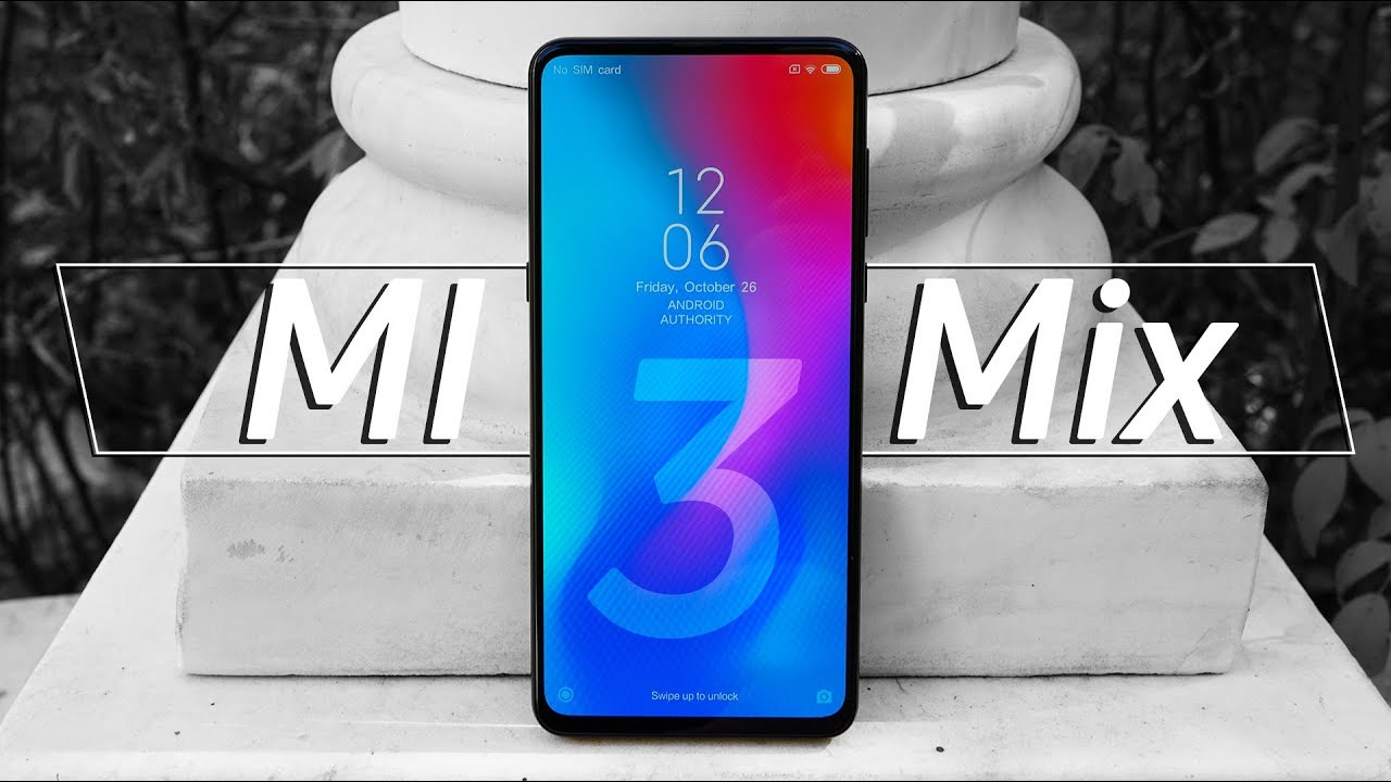 Xiaomi Mi Mix 3 hands on: No Bezel Slider Phone