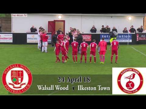 Walsall Wood v Ilkeston Town - First Half Goals