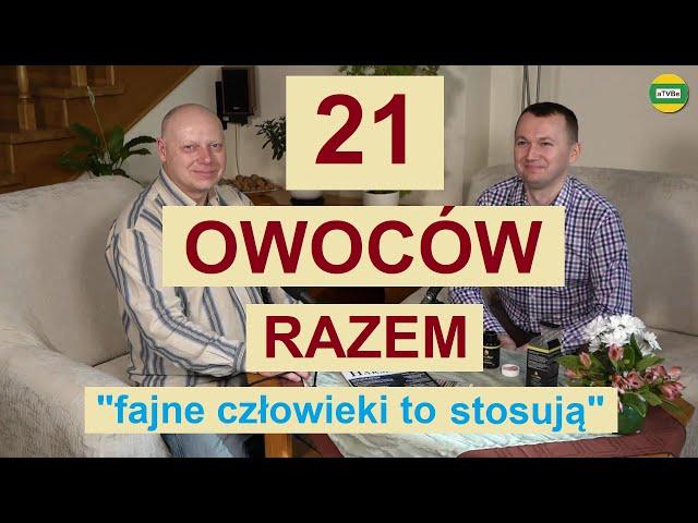 PROBIOTYK - 21 LIOFILIZOWANYCH NATURALNYCH OWOCÓW cz.8 Michał Toczyłowski i Artur STUDIO 2021