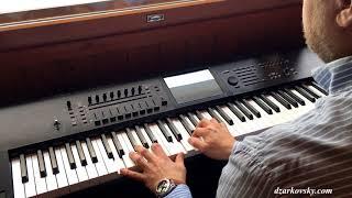 Работы учеников - В. Талвинен - Город, которого нет - Уроки фортепиано скайп онлайн