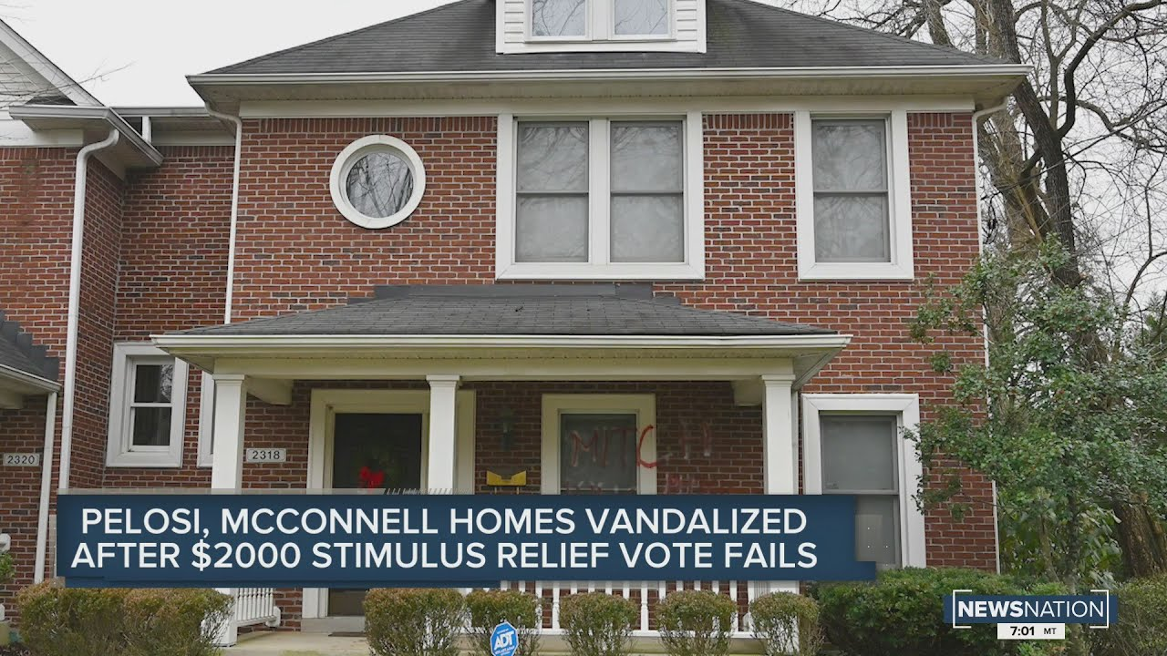 'This is different': Sen. Mitch McConnell's Louisville home vandalized