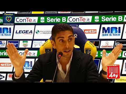 08/02/2018: Pre Bari – Frosinone, conferenza stampa Moreno Longo
