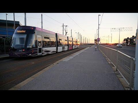 Fleetwood to Blackpool Tram Ride