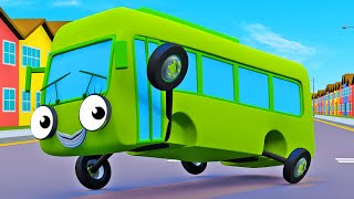 Nursery Rhymes With Baby Buses! | Gecko's Garage | Wheels On The Bus | Bus Videos For Kids