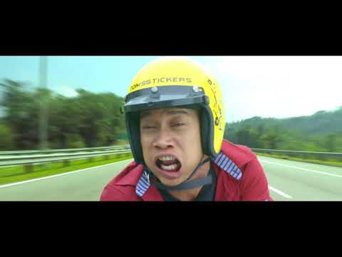 REMPIT SAMPAI LANGIT - Trailer [HD] Edisi 'Ketawa Sampai Langit !!'