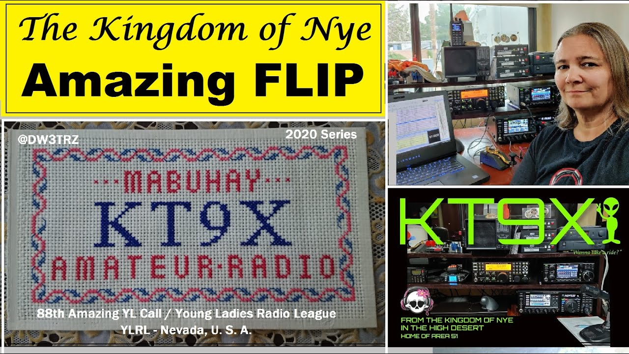 "Amazing Young Lady LAHRA ""FLIP"" SVARE, KT9X 