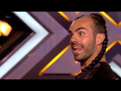 Slavko Kalezic: Ponytail Swinger Leaves Judges ABSOLUTELY SPEECHLESS! The X Factor UK 2017