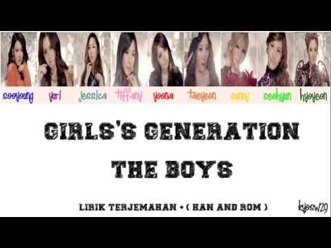 Girls' Generation SNSD 소녀시대   The Boys Lirik Bahasa Indonesia