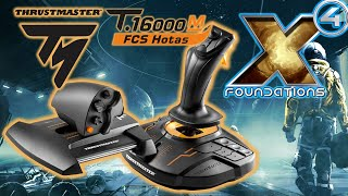 Adding a HOTAS to my system - Thrustmaster provided me with a T.16000M FCS Hotas. We go over the standard configuration in X4 Foundations and then ...
