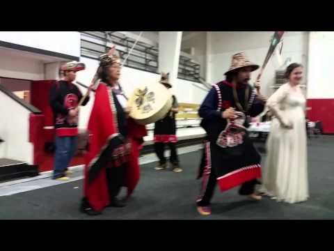 Dorothy and Kelly's Reception Native American Indian Dance