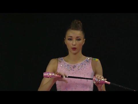 33-й чемпионат Европы по художественной гимнастике (Будапешт - 2017) – Булавы