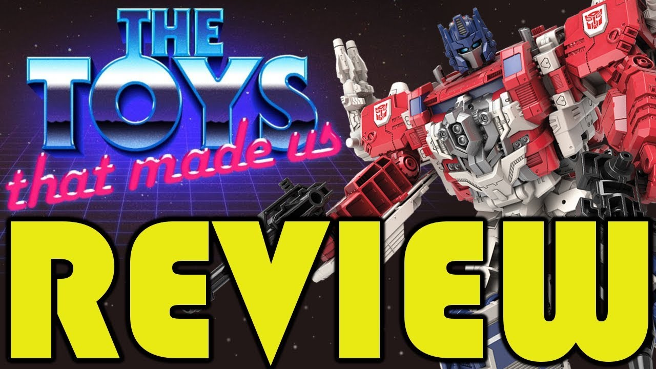 Review Netflix S The Toys That Made Us Transformers