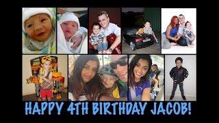 HAPPY 4TH BIRTHDAY JACOB!