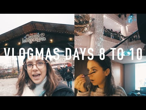 VLOGMAS 2017 DAYS 8 TO 10: Blog Launching, Christmas Shopping and Family Time | sunbeamsjess