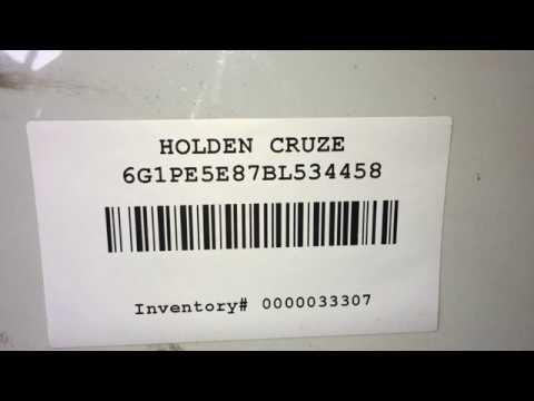 Разборка Chevrolet Cruze 1.4 A14NET (VIN: 6G1PE5E87BL534458) J6242