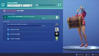 Fortnite Free Emote | Buccaneer's Bounty Challenge