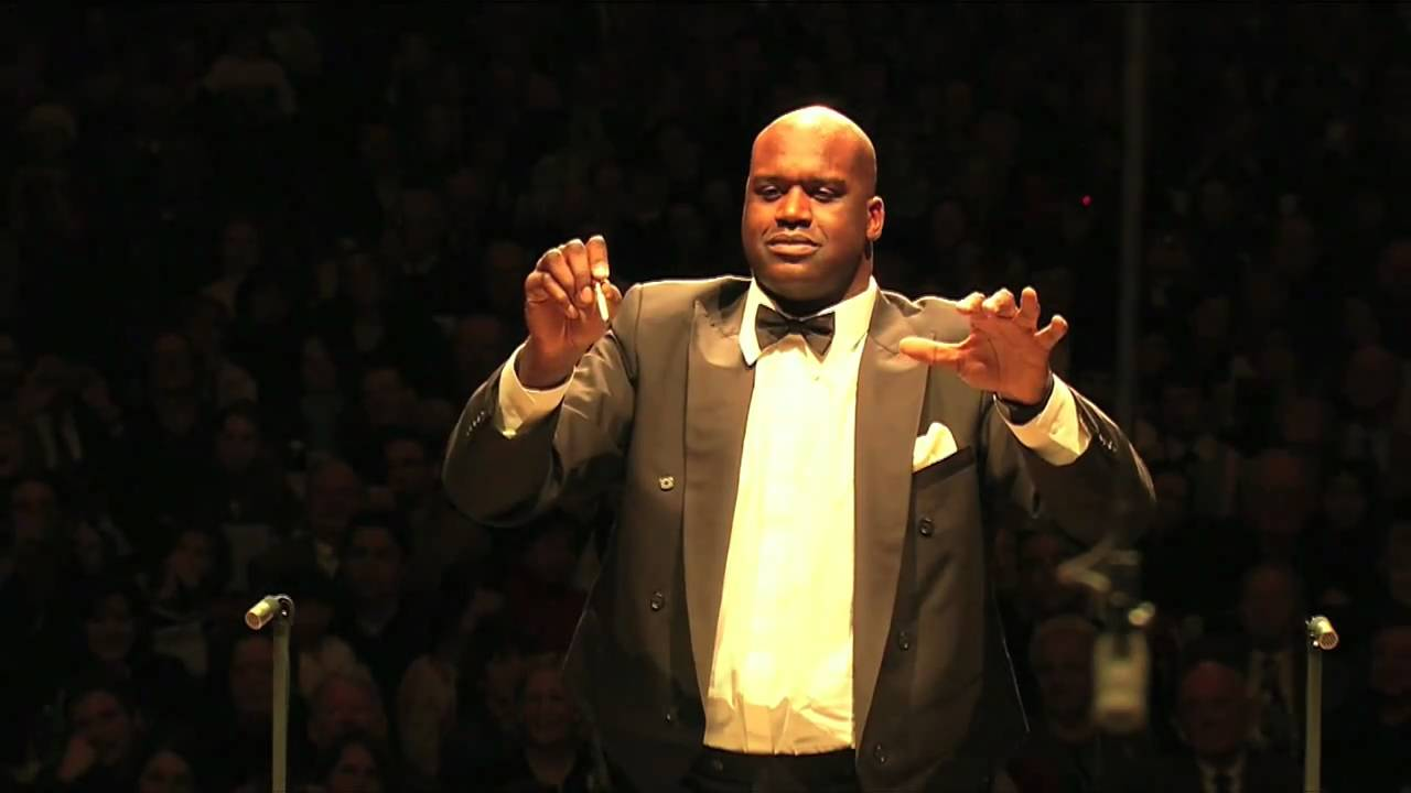Shaquille O'Neal Conducts The Boston Pops