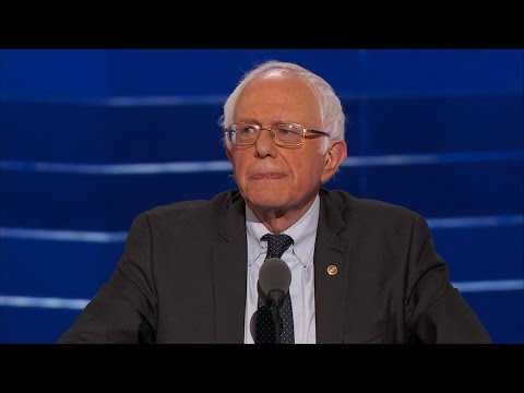 Bernie Sanders FULL SPEECH at Democratic National Convention [ DNC 2016 ]