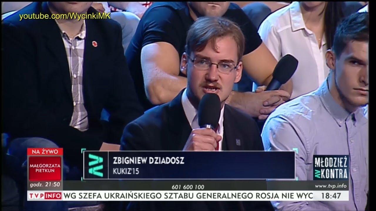 Młodzież kontra 611: Zbigniew Dziadosz (Kukiz'15) vs Ryszard Czarnecki (PiS) 30.09.2017