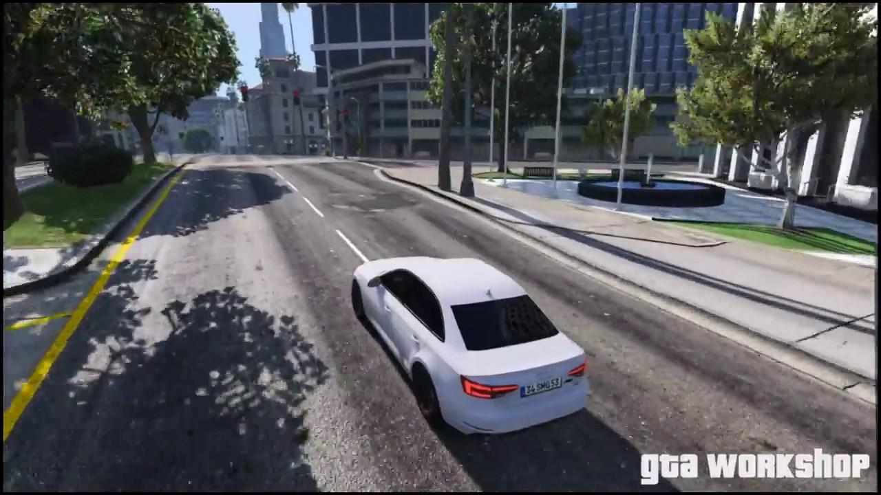 GTA MOD Audi A B ABT Fast Drive PC FPS - Audi car gta 5