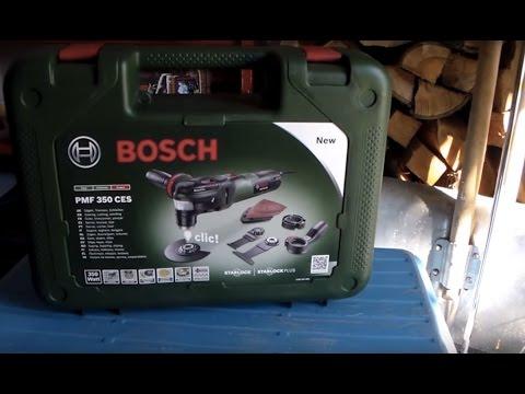 Видео обзор: Резак универсальный BOSCH PMF 350 CES