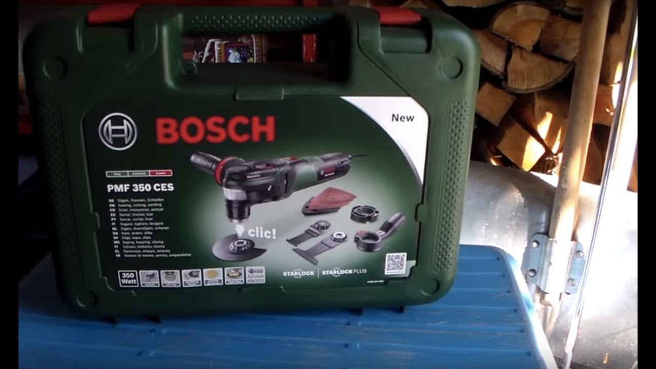 multifunci n bosch pmf 350 ces youtube