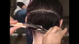 DEMETRIUS  | Женская стрижка на короткие волосы мастер-класс |  Стрижка каре