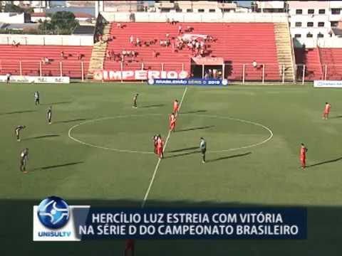 Hercílio Luz estreia com vitória na série D do Campeonato Brasileiro
