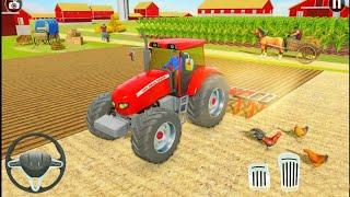 العاب سيارات محاكي الزراعة الجرار الزراعة ألعاب السيارات Tractor Farming Simulator Android Gameplay screenshot 5