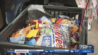 Local toy store is buying back children's Halloween candy
