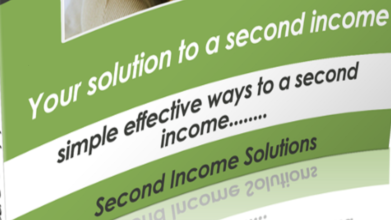 Second Income Solutions:  Your solution to a second income