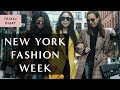 New York FASHION WEEK February 2019 Vlog I Sydne Summer