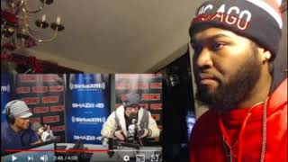 Chris Webby rapping on Sway in the morning 2018 - REACTION