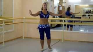 Он-лайн уроки танца живота: Baladi (часть 1 спиной)