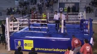 Kevin Hernandez  Yera Pera boxing  vs Sergio Delgado Arguineguin