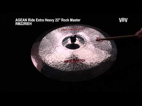 "22"" Ride Extra Heavy Rock Master video"