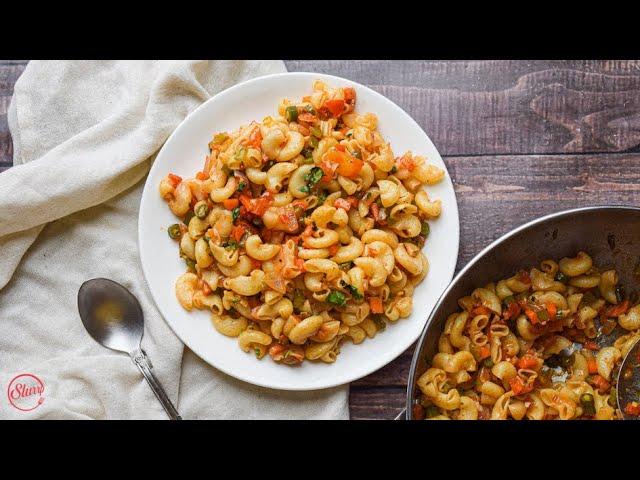 Vegetable Macaroni | Easy Macaroni Recipe
