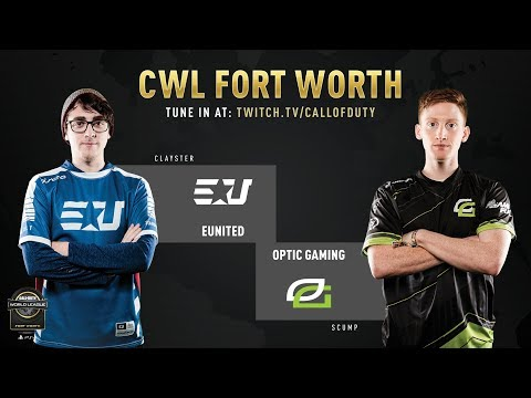 eUnited vs Optic Gaming | CWL Fort Worth 2019 | Day 1