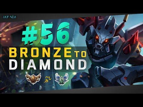 Copying Challenger Korean Jungle Routes | Kha'zix Jungle | Depths of Bronze to Diamond Episode #56