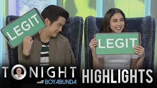 TWBA: Joshua Garcia and Julia Barretto take on Legit or Lie