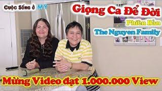 ❀//Vlog 238// Mừng Video Đạt 1.000.000 View - Ngẫu Hứng Karaoke - Giọng Ca Để Đời (Kim + Hương)