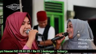 Maya Salghat - Ina Feat Konita ( ISTANBUL GAMBUS ) Live 14 - 02 - 21 / Sidoarjo