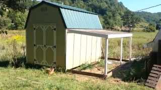 EASY!!! Lean-To Greenhouse Idea For A Shed / Tiny House