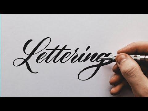 🔴  LIVE: Name Lettering!